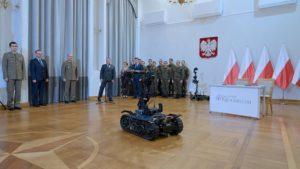 Robot Patrolowo-Przenośny // Fot. L. Chemperek/COMON