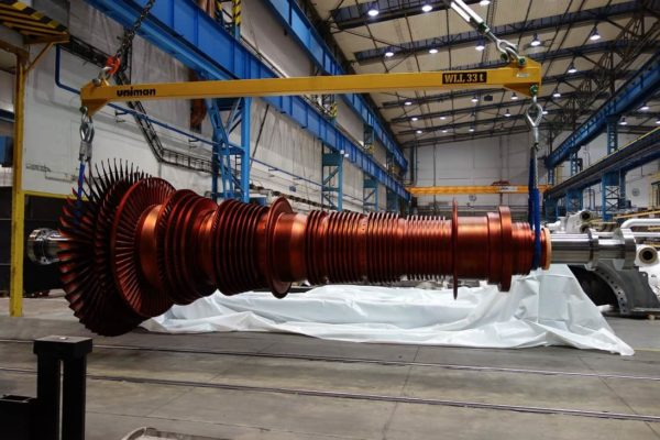 Wirnik turbiny. Fot. Arcelor Mittal //poland.arcelormittal.com
