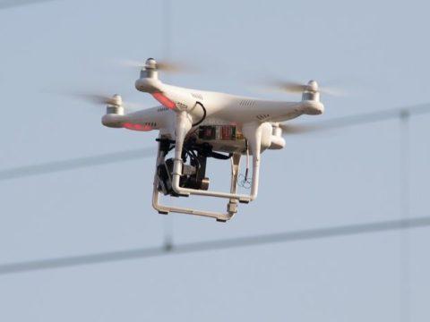 Grupa Tauron testuje drony. Fot. Tauron