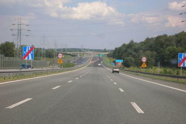 Fragment autostrady A4