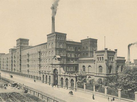 Fabryka Izraela Poznańskiego. Fot. Wikimedia Commons