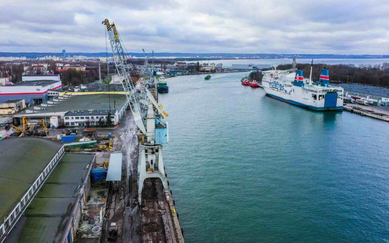 Port w Gdańsku. Fot. www.portgdansk.pl