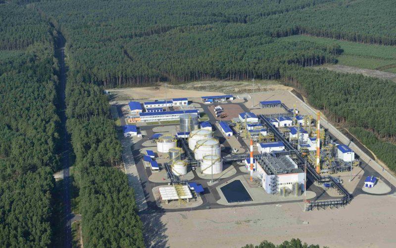 Kopalnia Ropy Naftowej i Gazu Ziemnego Lubiatów. Fot. PGNiG