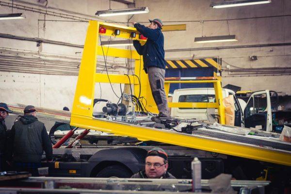 Produkcja w firmie Tevor. Fot. Tevor, www.tevor.pl