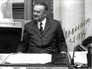 Spotkanie Piotra Jaroszewicza ze strajkującymi