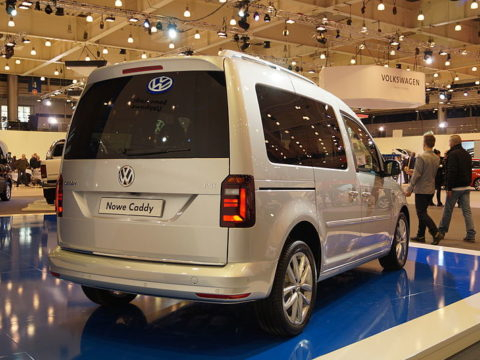 Volkswagen Caddy. Fot. Wikimedia Commons, https://creativecommons.org/licenses/by-sa/1.0/deed.pl