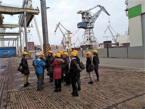 Współpraca szkół i przemysłu morskiego. Fot. PSSE