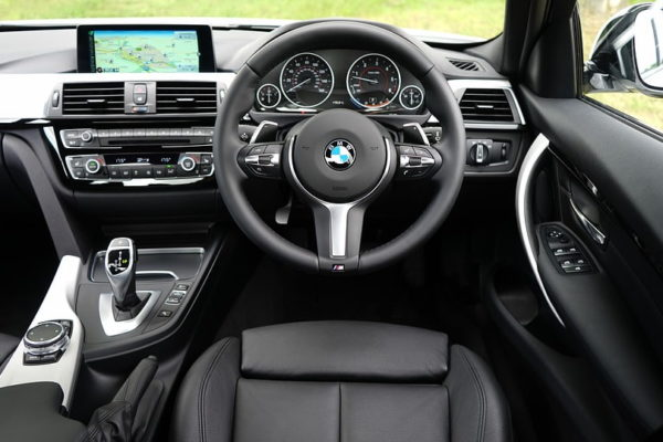 Wnętrze BMW