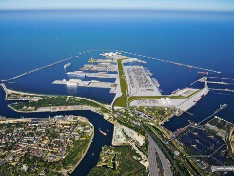 Wizualizacja Nowego Portu w Gdańsku. Fot. Port Gdańsk