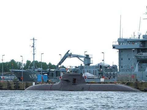 Niemiecki okręt podwodny U-212 // Fot. Martin Hüdepohl, Wikimedia Commons