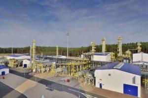 Kopalnia Ropy Naftowej i Gazu Ziemnego w Lubiatowie. Fot. PGNiG