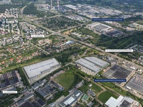 Panattoni Business Center Łódź III. Tu będzie mieścić się nowa fabryka Sealed Air. Fot. Panattoni Europe.