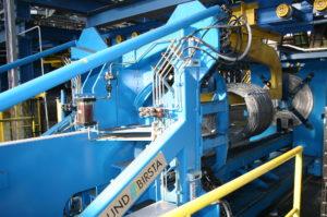 Walcownia walcówki w sosnowieckim zakładzie Arcelor Mittal