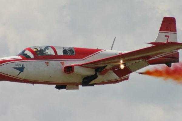 TS-11 Iskra MR. Fot. Lukas skywalker - Praca własna, CC BY 3.0, https://commons.wikimedia.org/w/index.php?curid=2679502