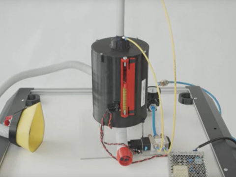 Tak wygląda prototyp respiratora VentilAid. Fot. ventilaid.org