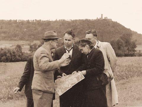 Jan Wyżykowski podczas poszukiwań złóż miedzi. Fot. KGHM