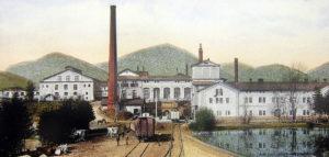 Tak wyglądał Browar Żywiec na początku XX wieku.