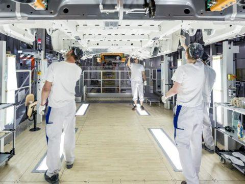 Zakład VW Crafter we Wrześni. Fot. VW Poznań