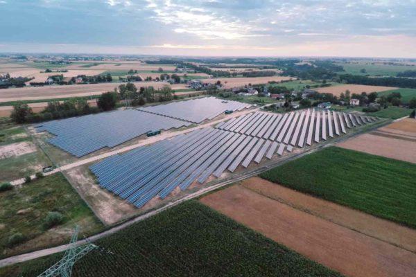 Magazyn energii powstanie w pobliżu farmy fotowoltaicznej w Czernikowie. Fot. Energa