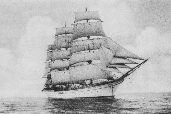 """Tak wyglądał statek w 1915 roku. Występował wtedy pod nazwą """"Prinzeß Eitel Friedrich"""""""