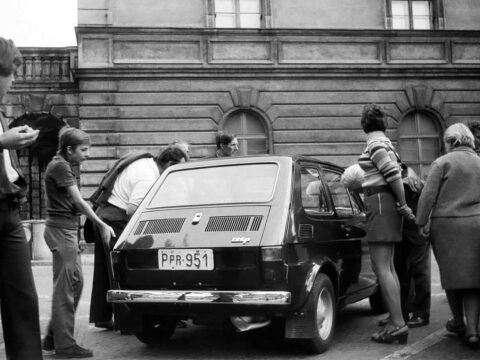 Fiat 126p. Fot.Stiopa, CC BY-SA 3.0, https://commons.wikimedia.org/w/index.php?curid=24295718