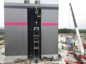 Nowa winda w ZG Janina. Fot Tauron Wydobycie