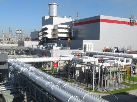 Blok gazowo-parowy Orlenu w Płocku. Fot. Orlen