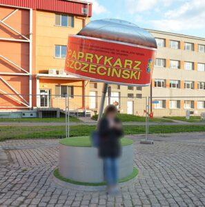 Pomnik paprykarza szczecińskiego. Fot. Kapitel, CC BY-SA 4.0