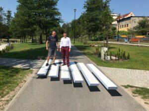Przejście dla pieszych 3D w Lidzbarku Warmińskim. Fot. Facebook