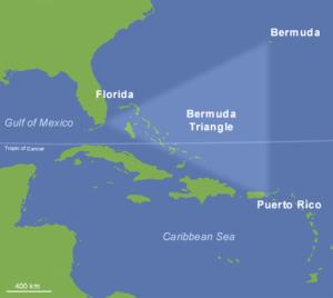 Trójkąt bermudzki Fot. Wikipedia