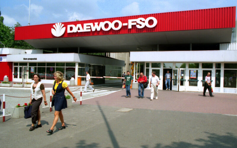 Fabryka Daewoo-FSO. Fot. Cezary p, CC BY-SA 4.0, https://commons.wikimedia.org/w/index.php?curid=4076063