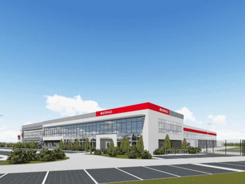 Tak ma wyglądać nowa fabryka w Jonkowie. Fot. Erko