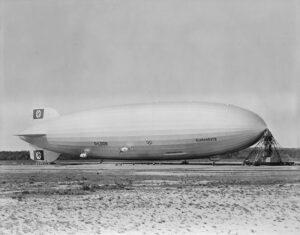 Sterowiec Hindenburg fot. Wikipedia