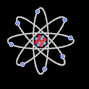 wodór atom