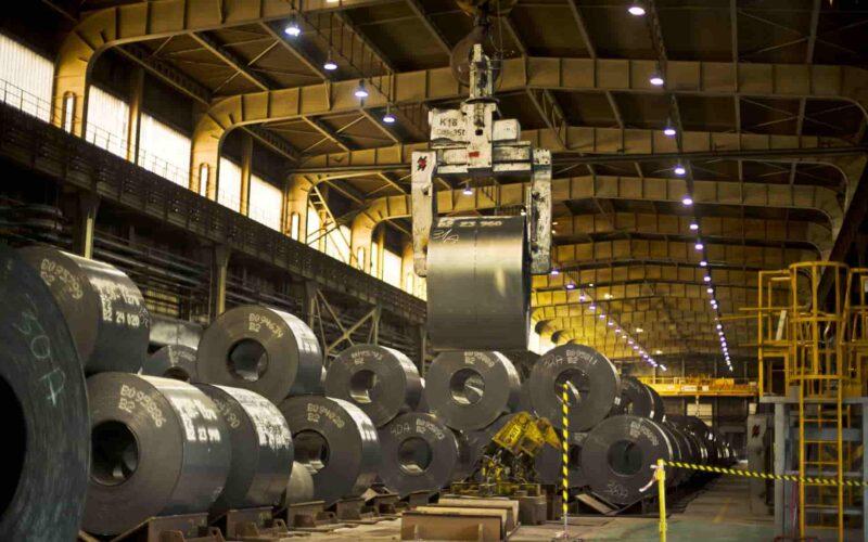 Modernizacja linii. Fot. ArcelorMittal Poland