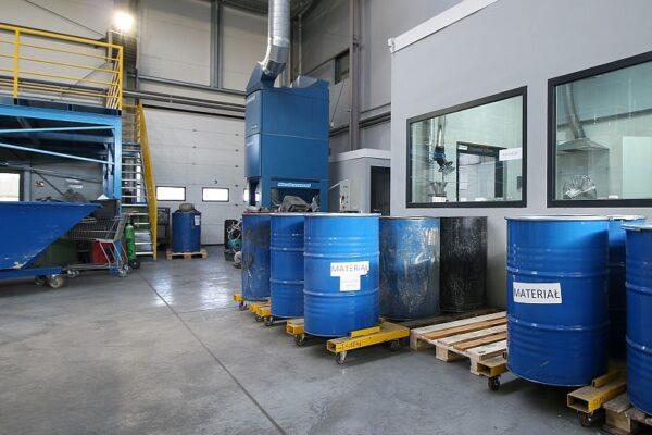 Zakład w Trzebini. Fot. Unimetal Recycling.