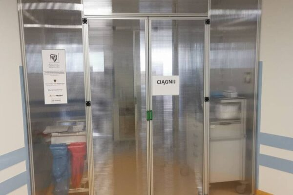 Tak wygląda śluza ochronna zaprojektowana przez naukowców Politechniki Wrocławskiej. Fot. pwr.edu.pl