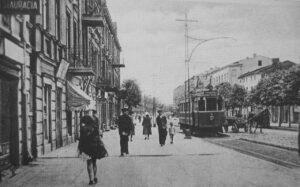 Dąbrowa Górnicza w latach .20. Fot. WIkipedia.