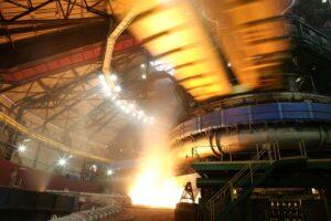 Tak obecnie wygląda Huta Katowice. Fot. Arcelor Mittal.