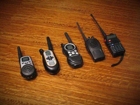 Współczesne walkie-talkie. Fot. Pixabay.