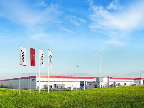 Nowa fabryka w Kołbaskowie. Fot, Kion Group