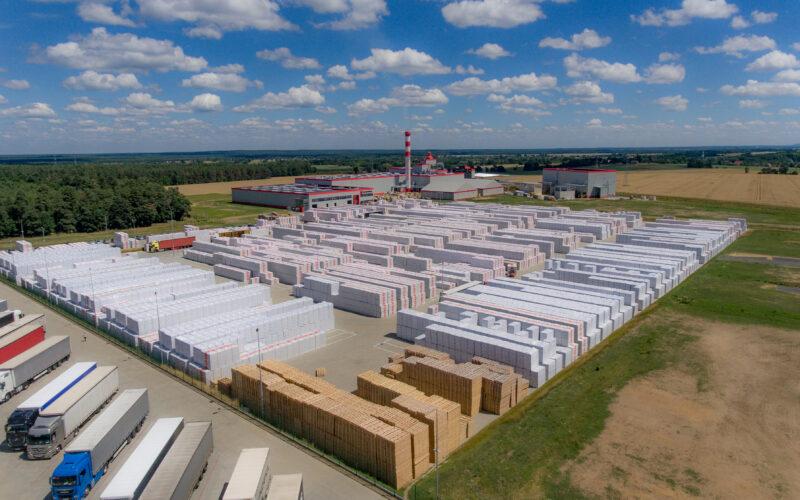 Fabryka wełny mineralnej Technonicol w Wykrotach fot. Technonicol